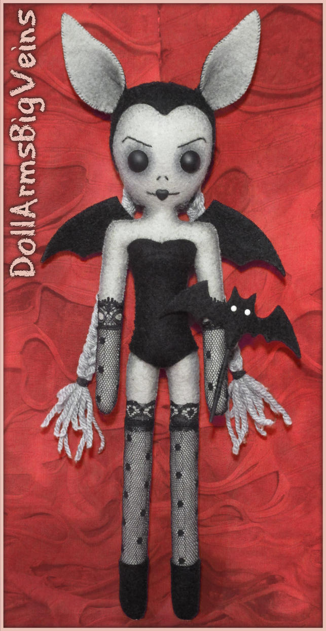 Batgirl by DollArmsBigVeins