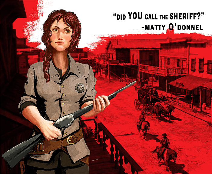 RDR wallpaper Wild Matty by SilvesterVitale