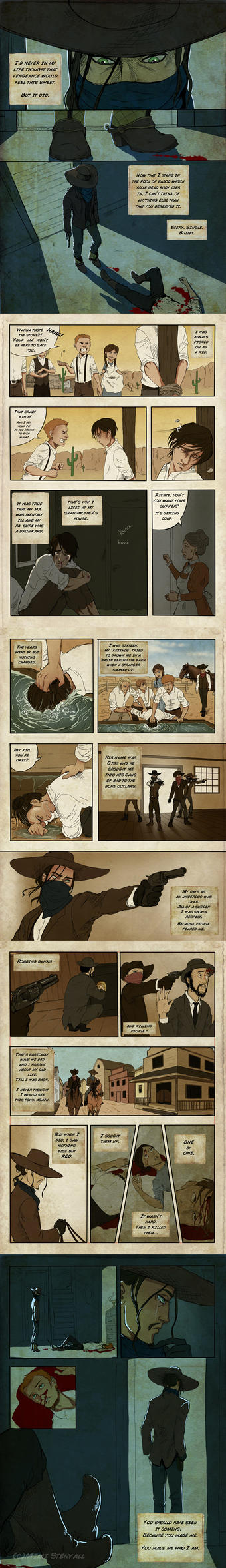 An outlaws tale by SilvesterVitale