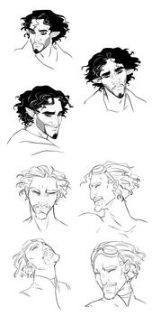 Jally and Elly faces
