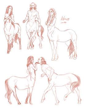 Centaur sketchdump2