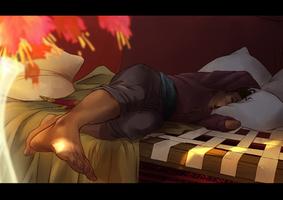 AA: So sleepy