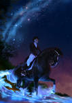 Into the Blue Dressage