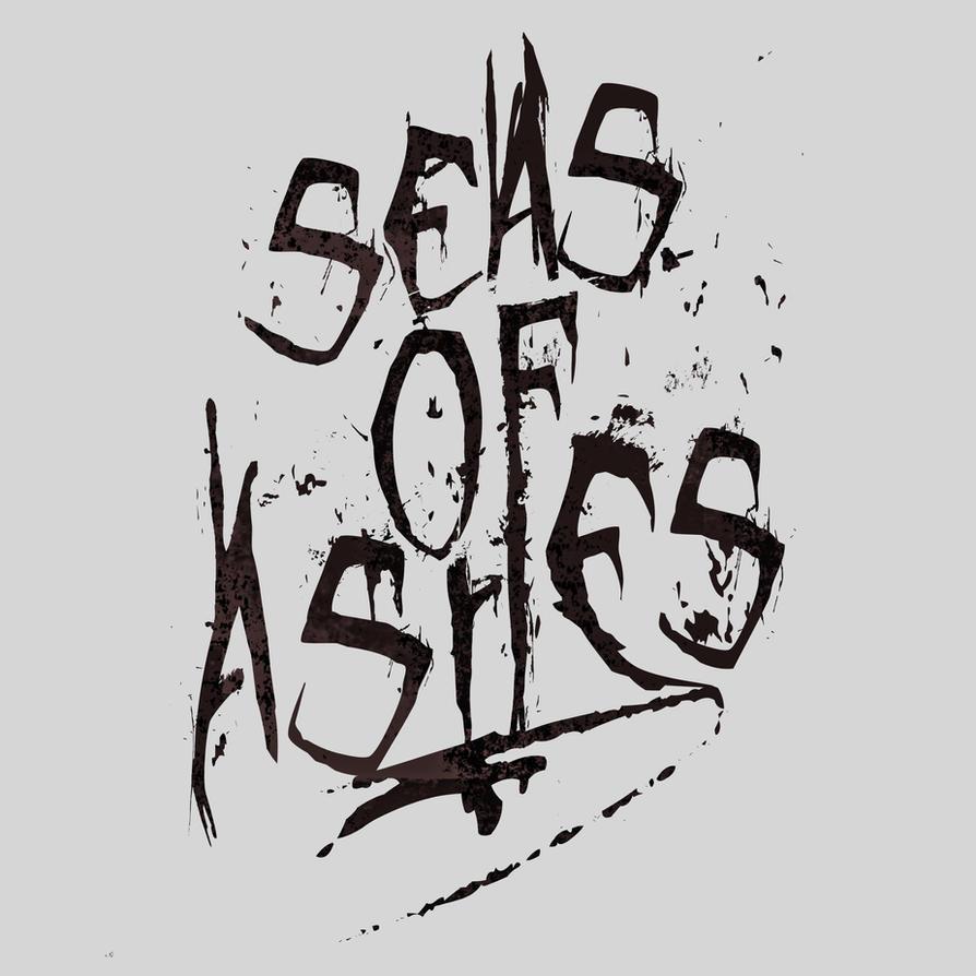 Seas Of Ashes Metalcore Logo By MariaKoch
