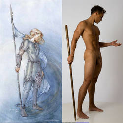 Gil-galad was an Elvenki by livemodelbooks