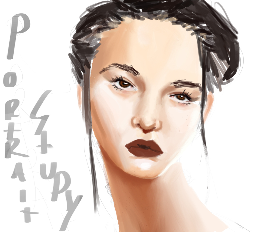 Portrait Study by fechi