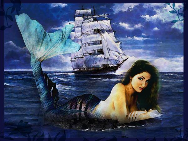 mermaid by boliarka