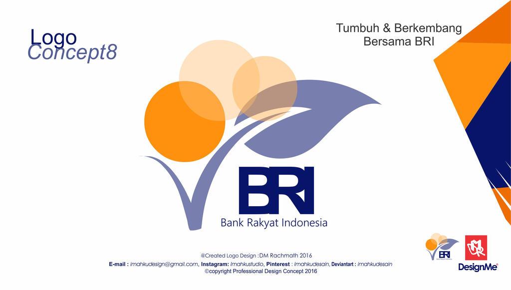 Bank Bri Logo 8 Imahkudesain Deviantart Gambar