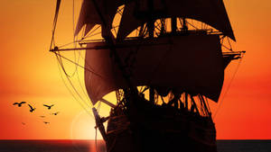Sunset at Sea by kado897