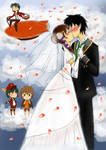 30 Days OTP Challenge Day 26 Wedding in the sky by InkyDoc