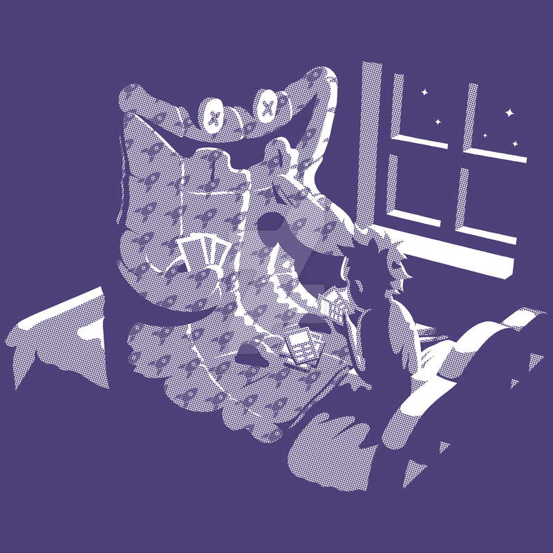 Duvet Monster by cart00nlion