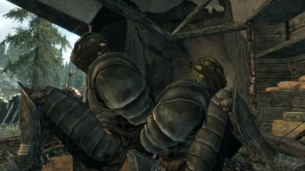Bound argonian knights by Boundtotem