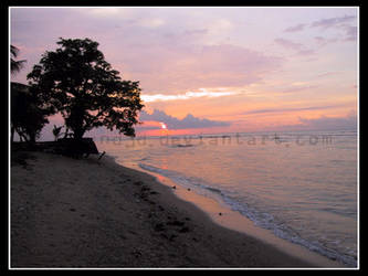Sunset at Anyer by w0und3d