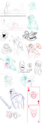 another sketch dump