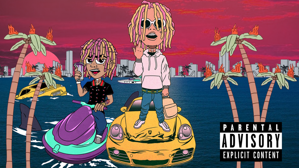 lil pump wallpaper by Bananamau5 on