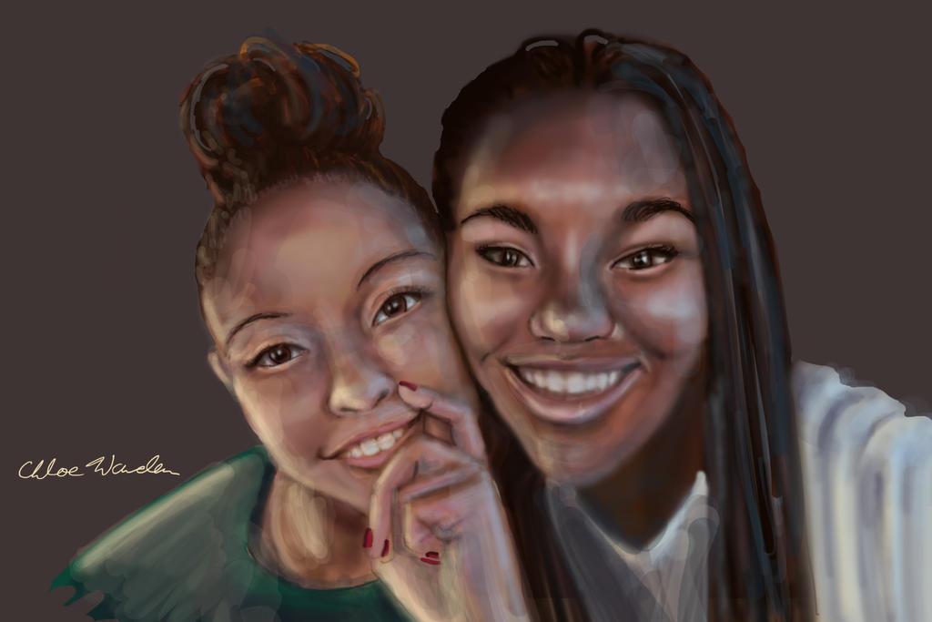 Commission Portrait 2 by CRWardenArt