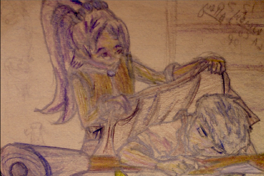 Practice Sketch by CRWardenArt