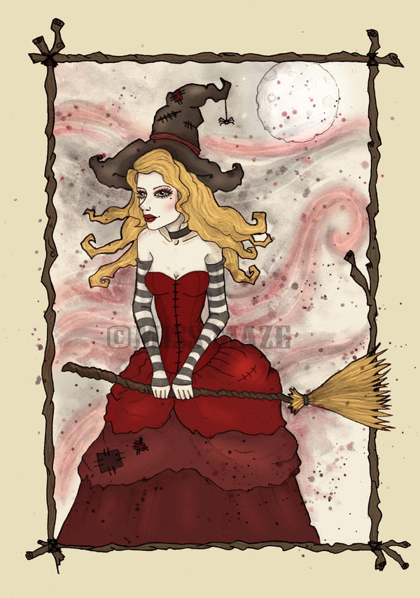 Scarlet Wychcraft by Miss-Maze