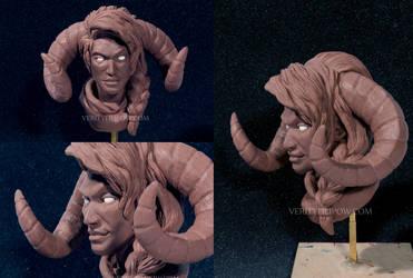 Jodariel 1/3 Scale Bust  by Creature-Cave