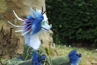 Alexander the Sualokin Commissioned Art Doll by Creature-Cave