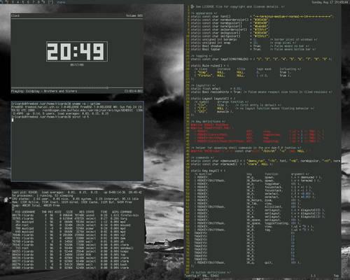 dwm on fresh FreeBSD install