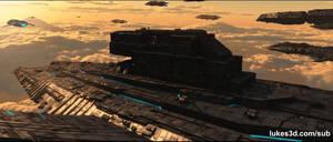 Spaceship Battle In Atmosphere 2