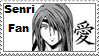 Senri Fan love stamp by odihemay6