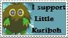 Support Little Kuriboh Stamp by odihemay6
