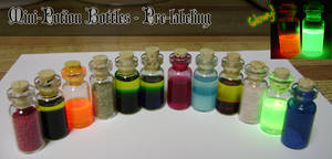 Mini Potion Bottles-No Labels