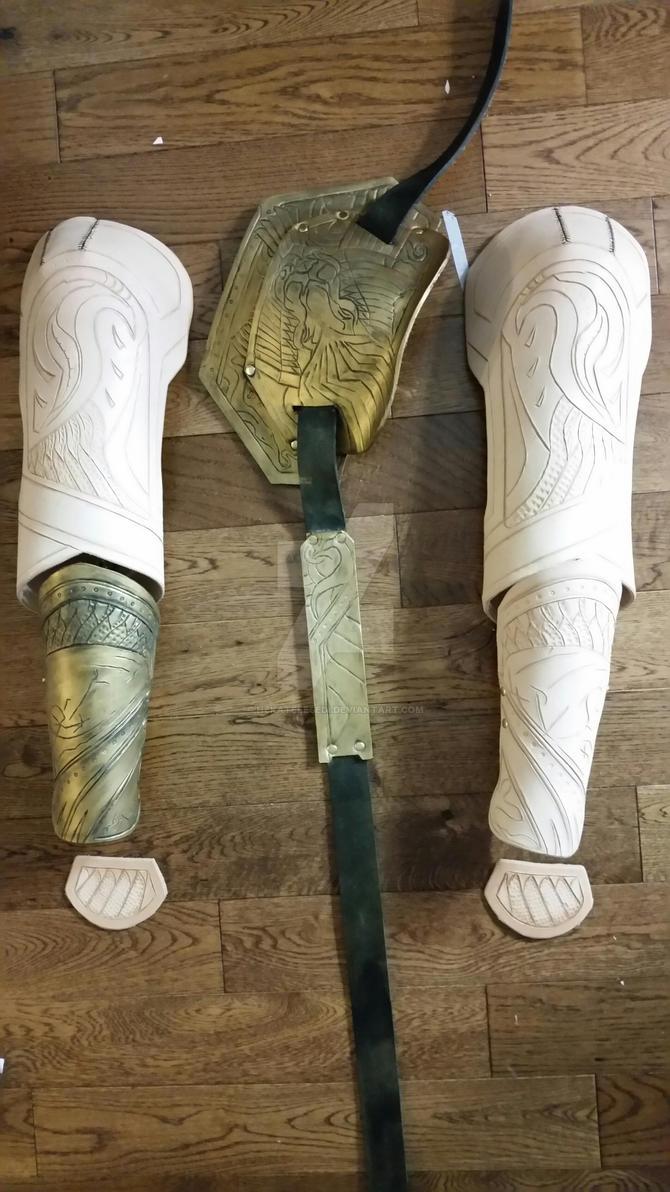 Loki armor WIP by HekateLesedi