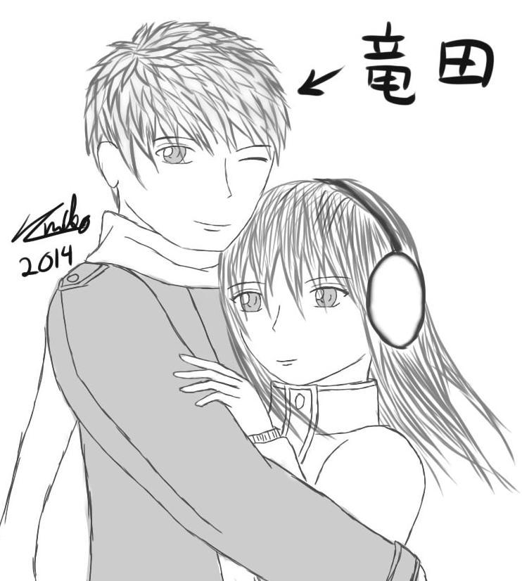 Ryuuta and Lily by Nikotabe