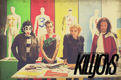 The Fabulous Killjoys by o-Mudbound