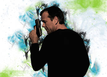 Jack Bauer Paintbrush by wernerth