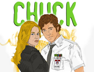 Chuck and Sarah by wernerth