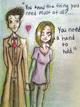 The Doctor and Rose: A Hand To Hold