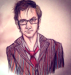 Tenth doctor Drawing