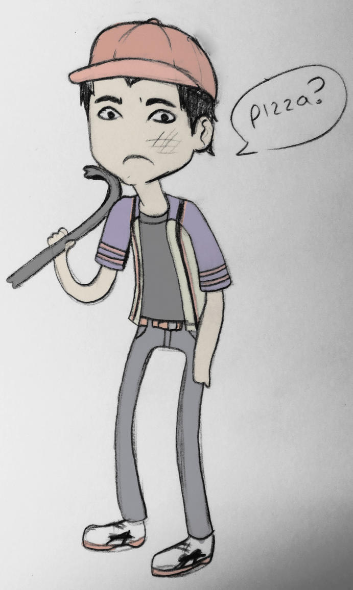 Glenn - The Walking Dead by Squishy-Mew