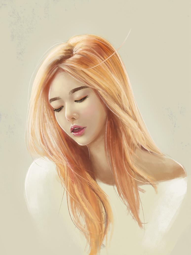 Portrait Study by greyschale