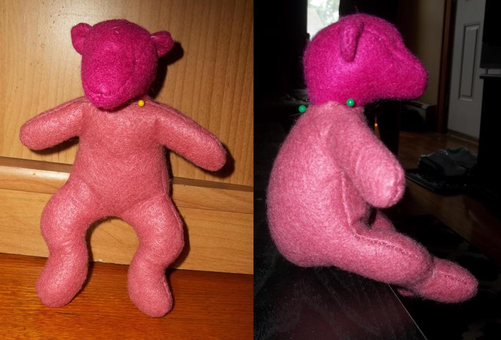 Sitting Teddy Bear Prototype by rboy42