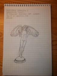 Drawing 11- Descending Night by NerdyRabbitCreations