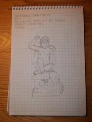 Drawing 15- Puck by NerdyRabbitCreations