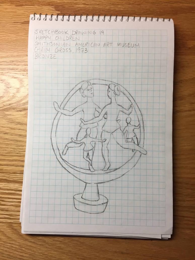 Drawing 19- Happy Children by NerdyRabbitCreations