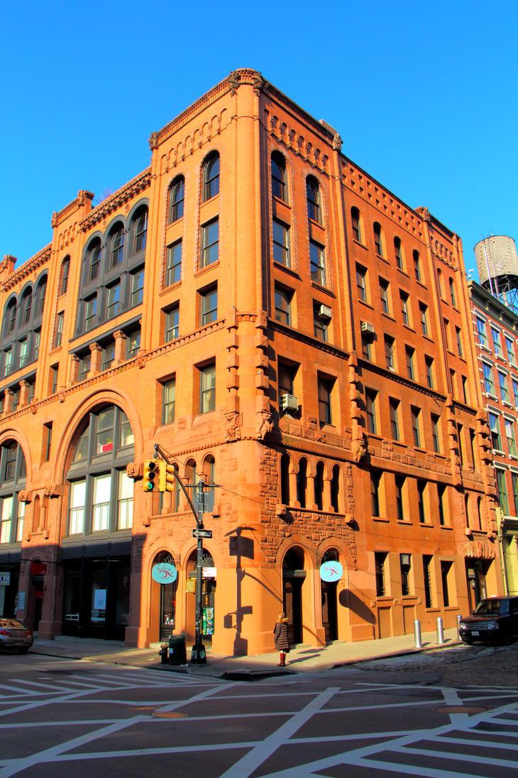 downtown NYC. by wdhyeaney