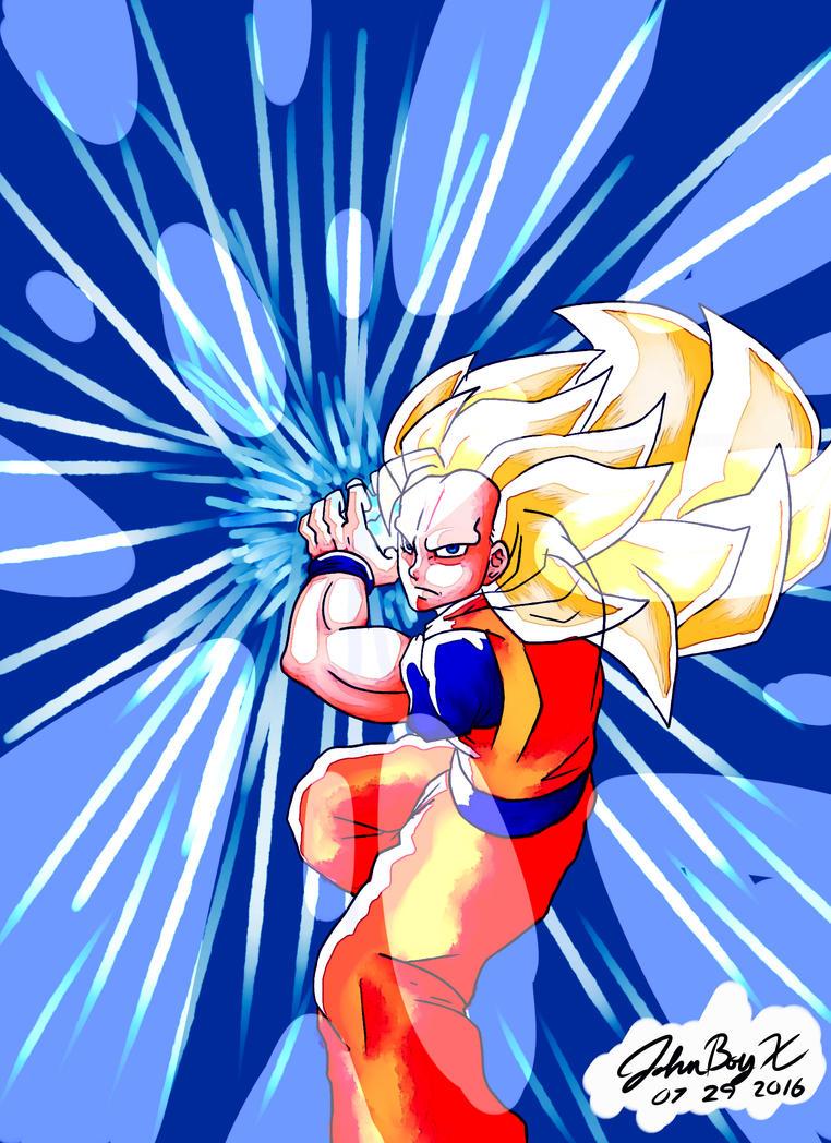 SSJ3 Goku by XJohnBoyX