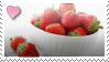 Strawberry Stamp by vomitcunt