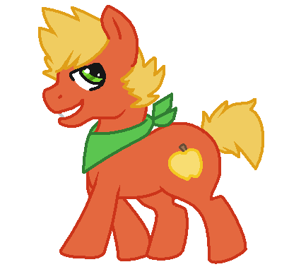 Golden Delicious :MLP-FanCharacter: by PONYPUKE