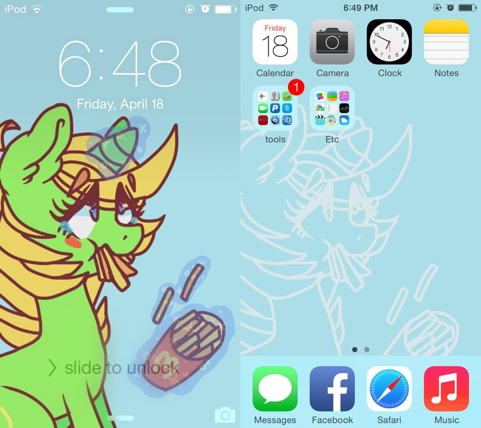 smallfry ipod wallpaper [ipod/iphone bg com's] by vomitcunt
