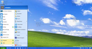 Windows XP look in Windows 10 without VS or patch