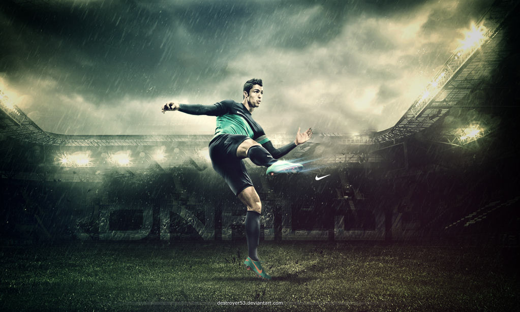 Ronaldo by destroyer53