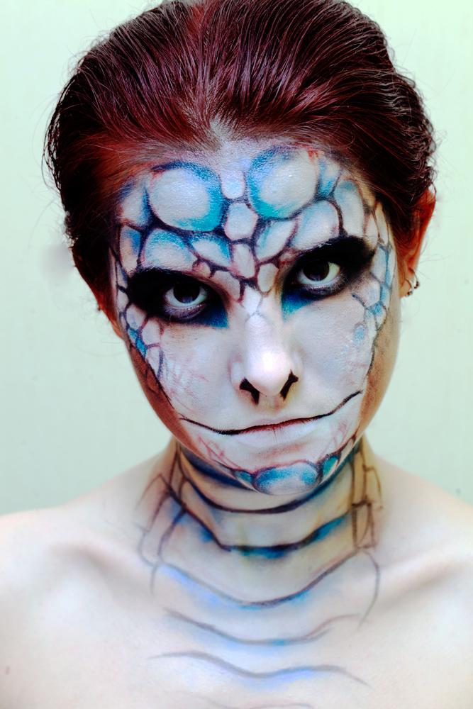 like a snake by LuciKoshkina
